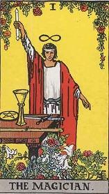 タロット大アルカナ魔術師