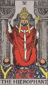 タロット・教皇